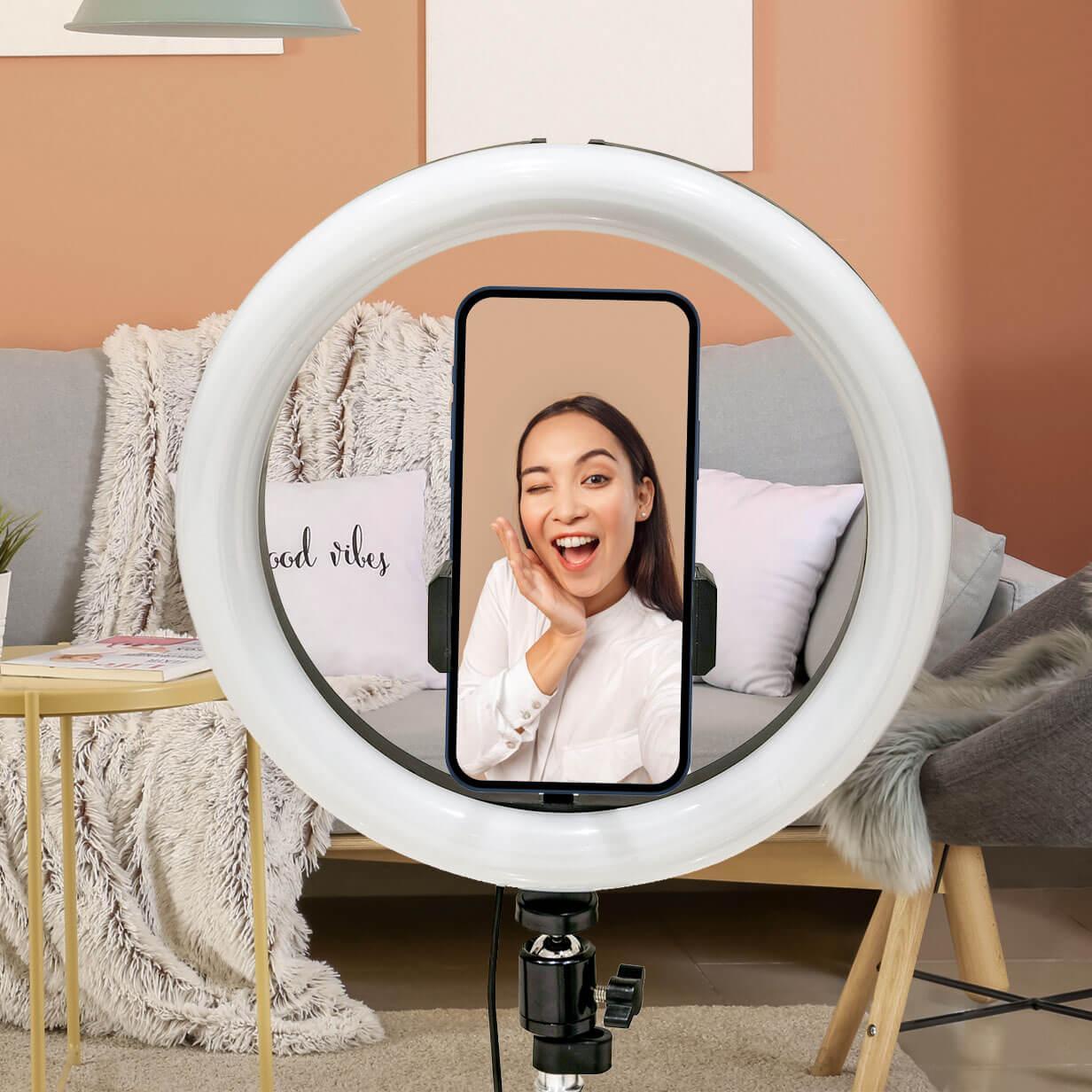 lampada selfie economica