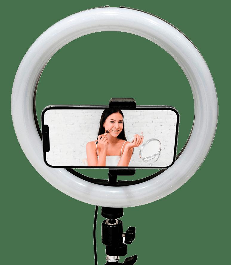 Lampada Selfie e Video Ring Light