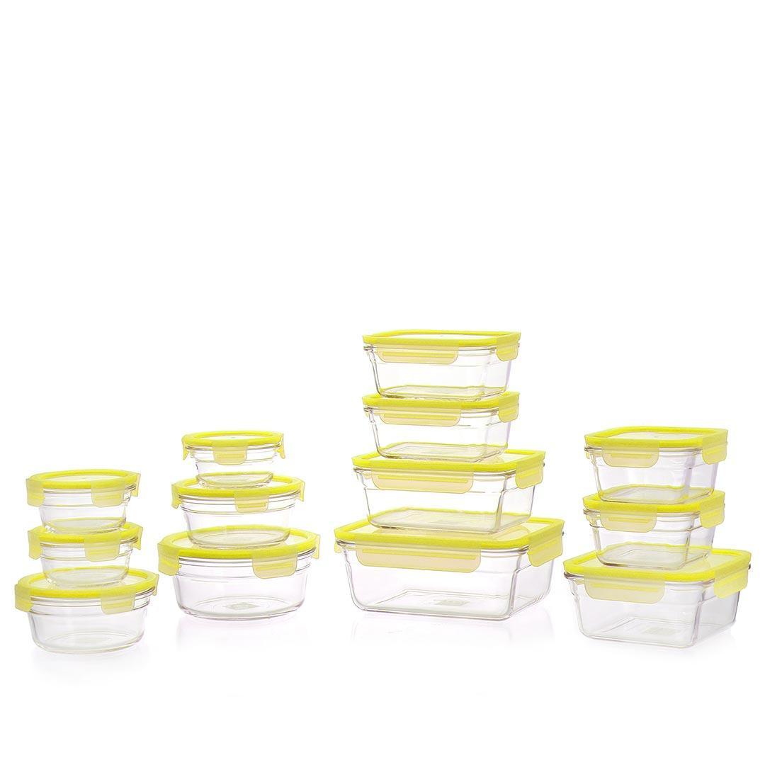 Set Glasslock color Giallo