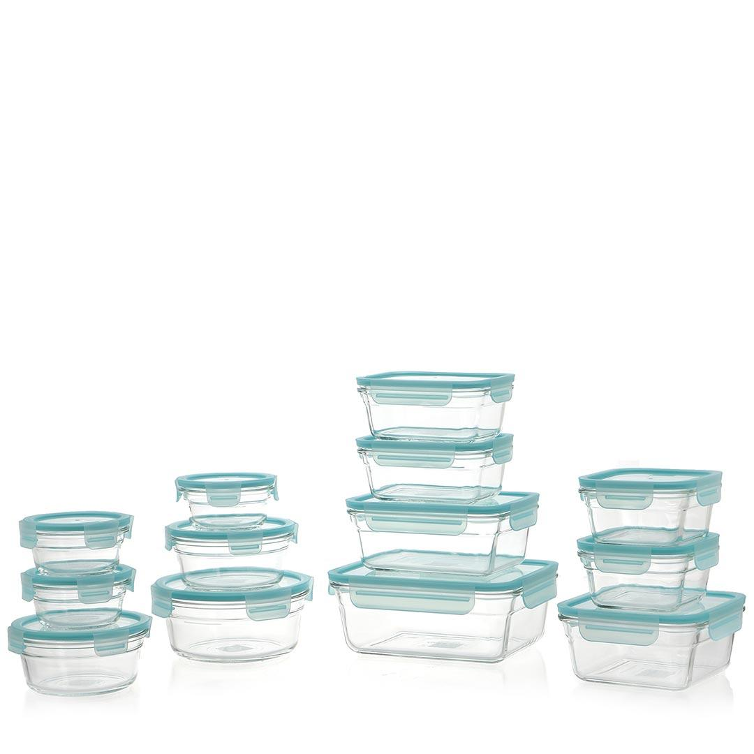 Set Glasslock color Acqua